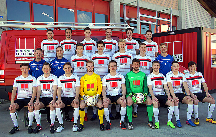 We were pleased to hold the stage for F C Zuzwil team of Switzerland in 2018.