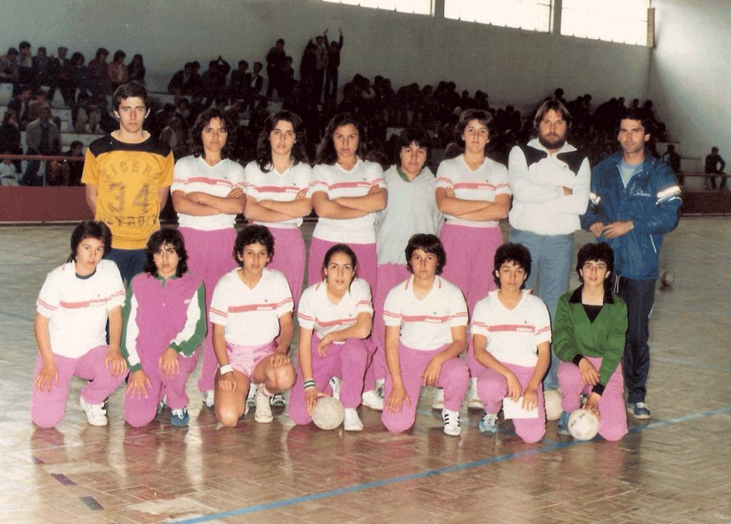 1983 – Primeira equipa estrangeira de andebol a visitar-nos, San Jorge/Huelva