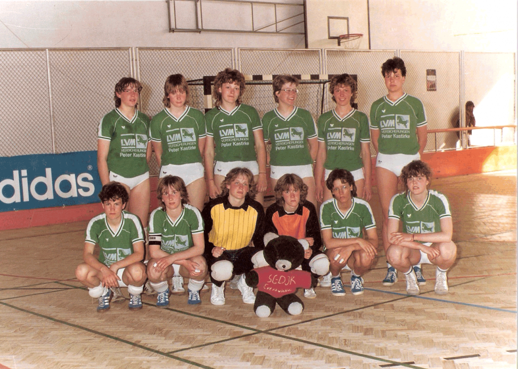 1985 - First German team to participate in our tournaments, SC DJK